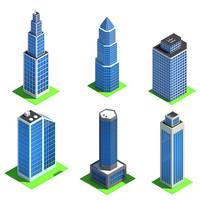 Low Poly City Pack