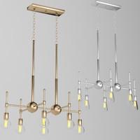 3d model dorian chandelier