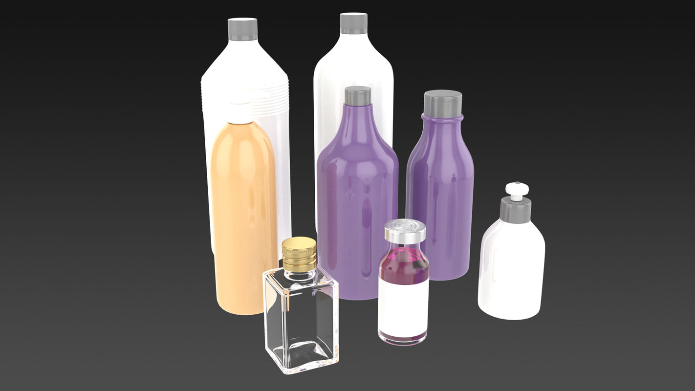 packaging 3d model