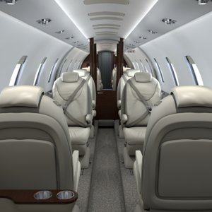 obj cabin interior cessna citation
