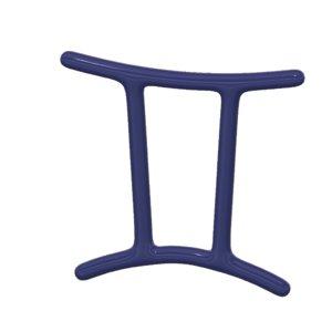 3d model gemini zodiac sign