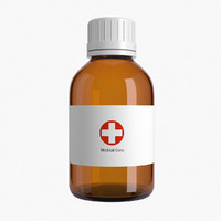 3d max medical bottle