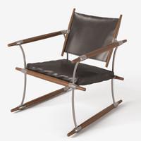 Jens Quistgaard-  safari chair