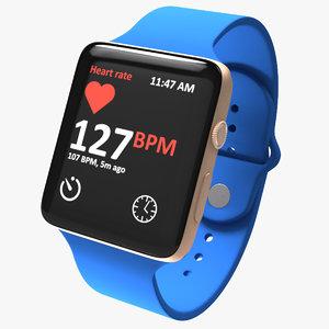 apple watch 2 3d max