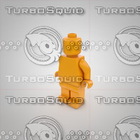 c4d lego character