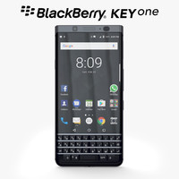 3d model blackberry keyone