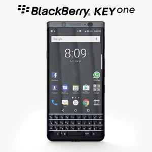 3d model blackberry keyone