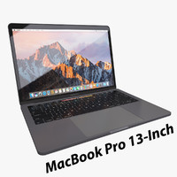 3d apple macbook pro 13-inch