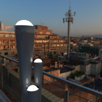free lamp orb 3d model
