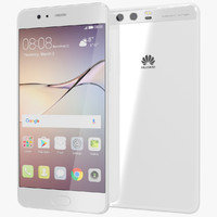 realistic huawei p10 ceramic 3d model