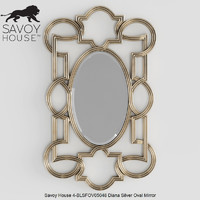 3d savoy house diana silver
