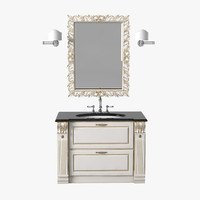 3d scavolini baltimora bathroom model