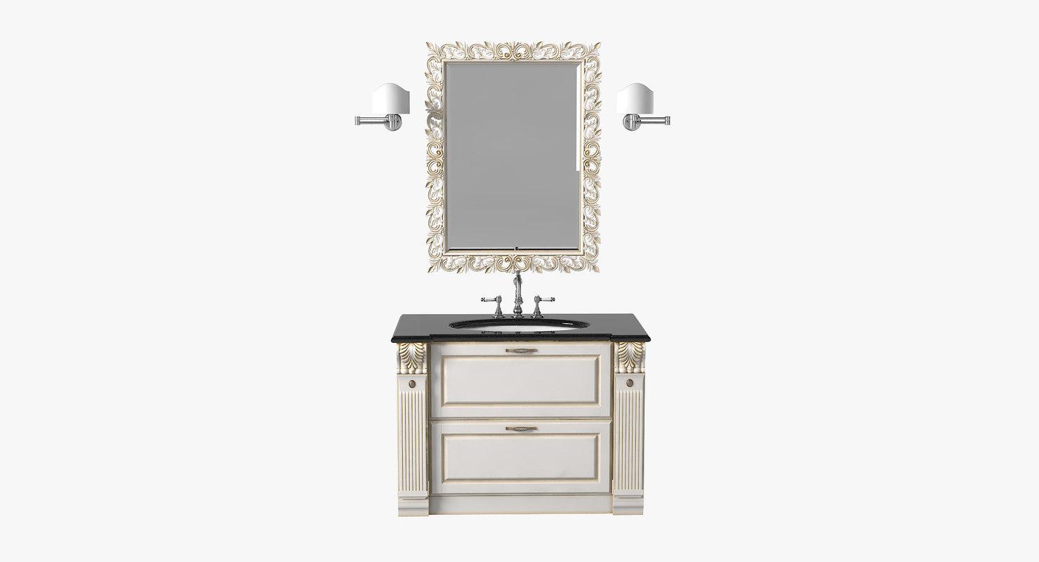 3d scavolini baltimora bathroom model