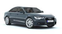 audi a6 c7 sedan 3d model