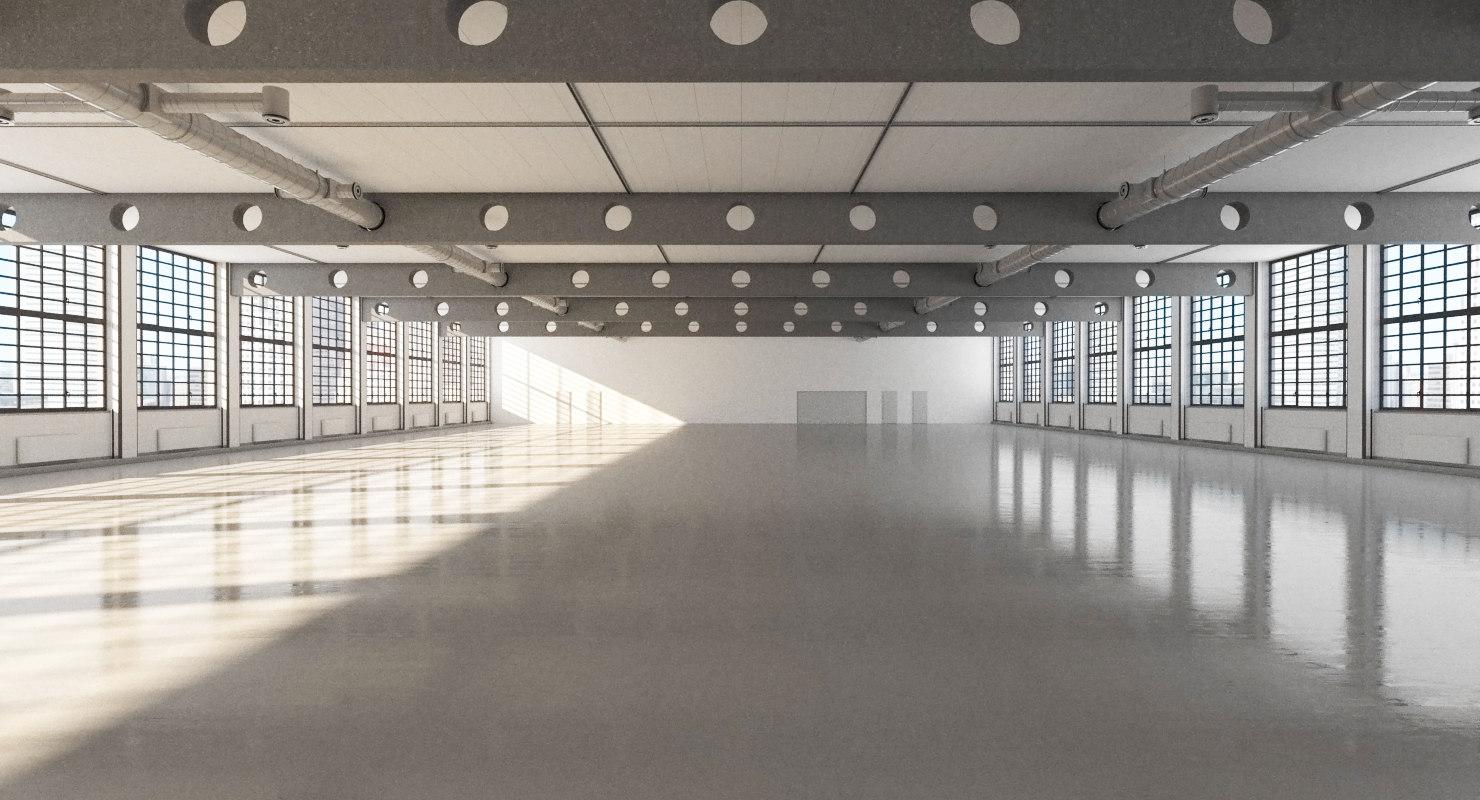 warehouse realistic 3d max