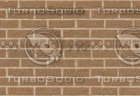 Brown Brick Texture With Bump Map