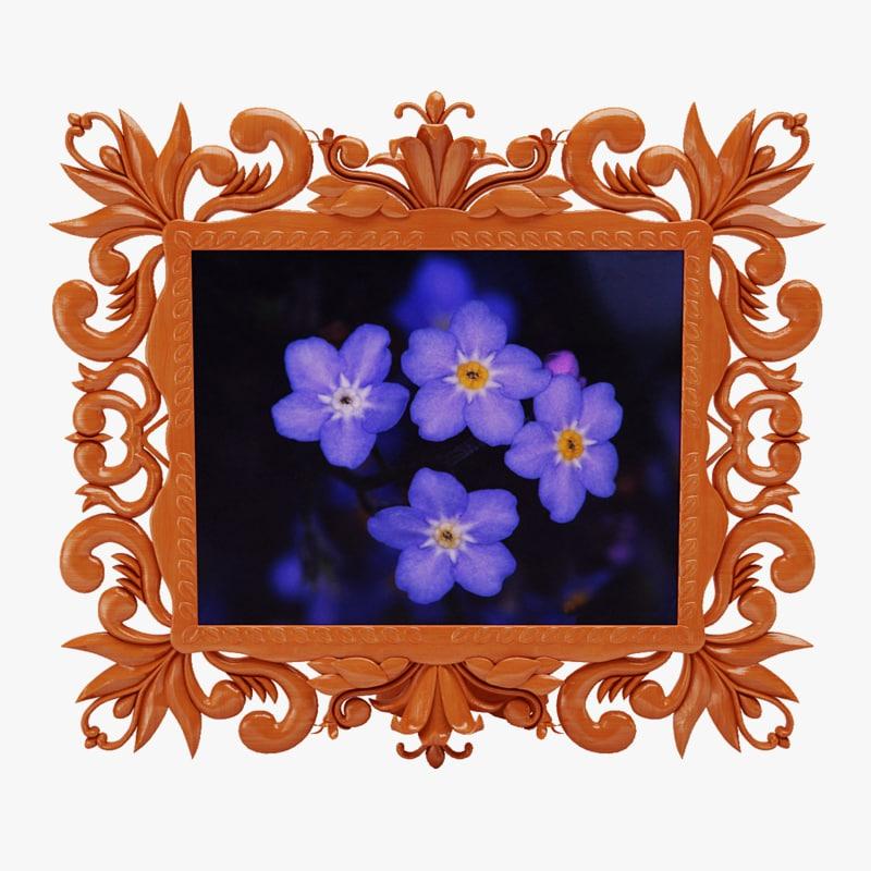wall frame 3d model