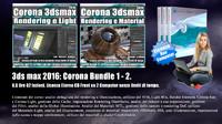 Corona in 3dsmax 2016 Bundle Vol 1.0 e 2.0 Cd Front