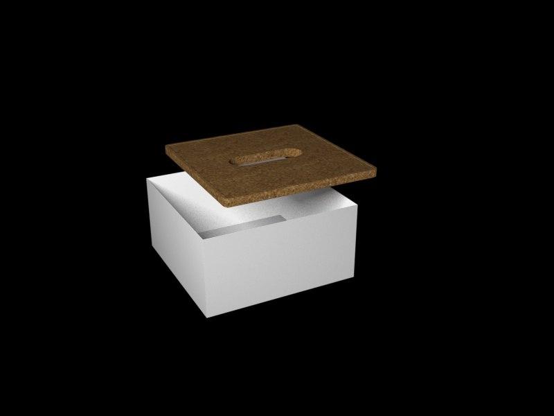 ikea officebox 3d max