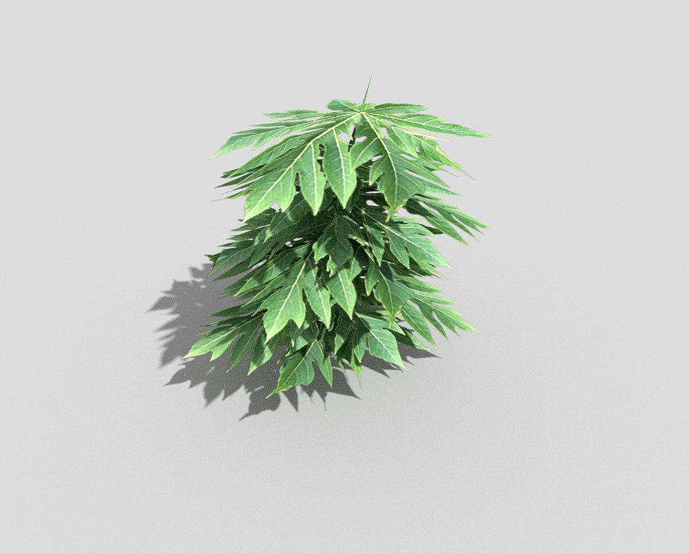 plant games 3d obj