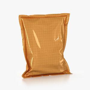 soft packaging 3d model