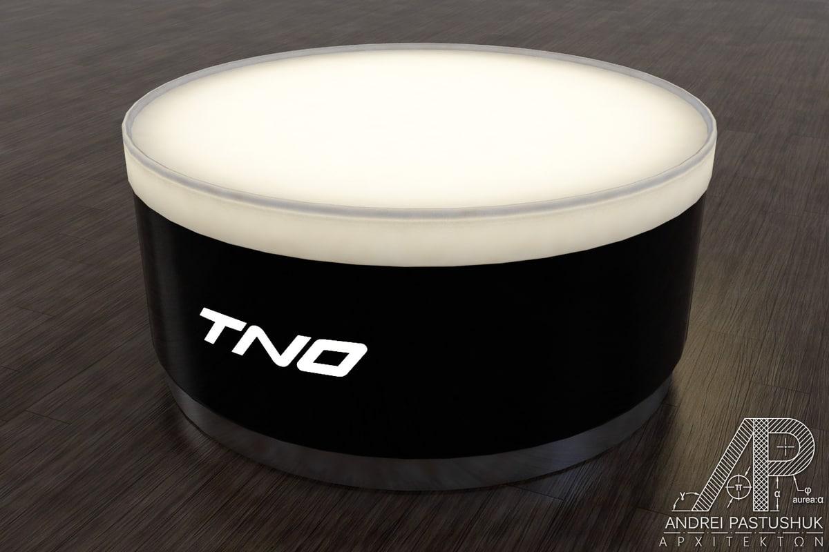 3d model coffee table nightclubs