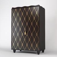 baker cabinet 3406 3d max