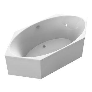 duravit corner bathtub 3ds
