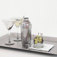 3d model cocktail shaker