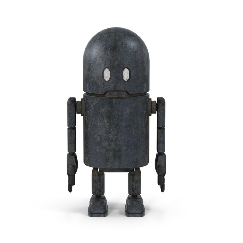 max robot happy
