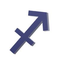 sagittarius zodiac sign dxf