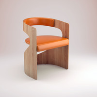 lucky chair 3d model