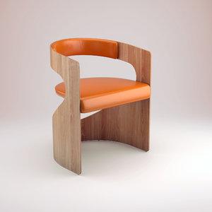 lucky chair 3d model