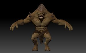 3d cyclops model