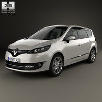renault scenic grand 3ds