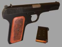 tokarev games gun 3d fbx