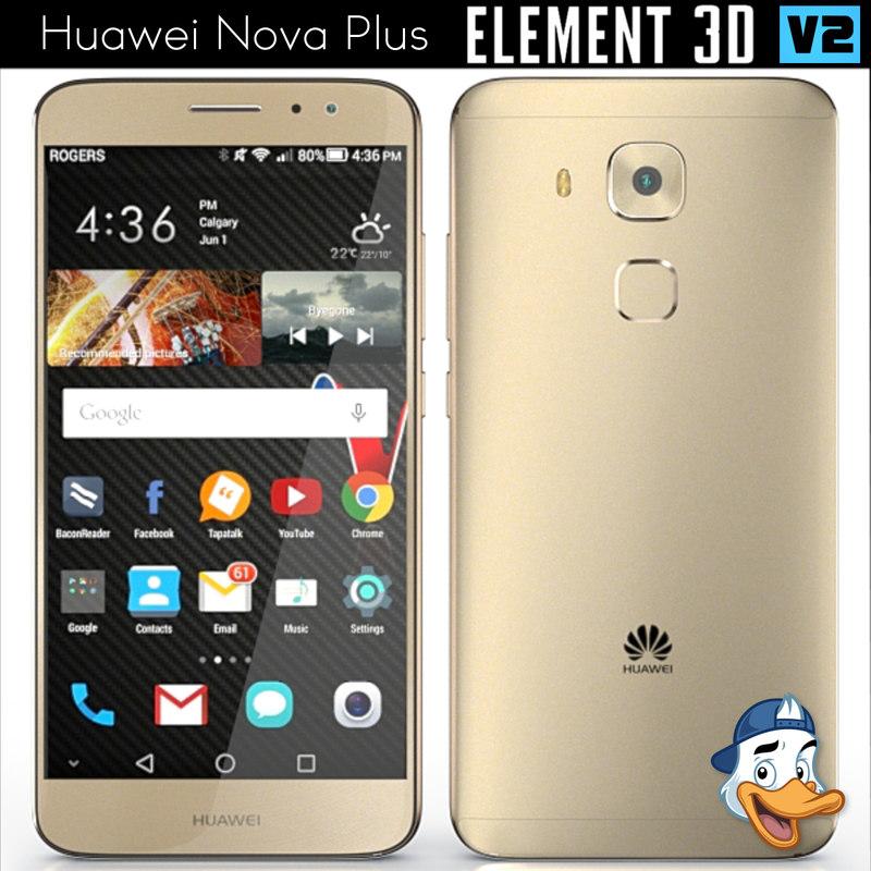 huawei nova element 3ds