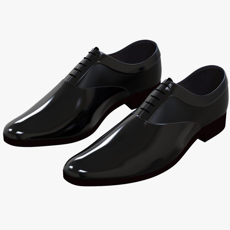 3d men shoes