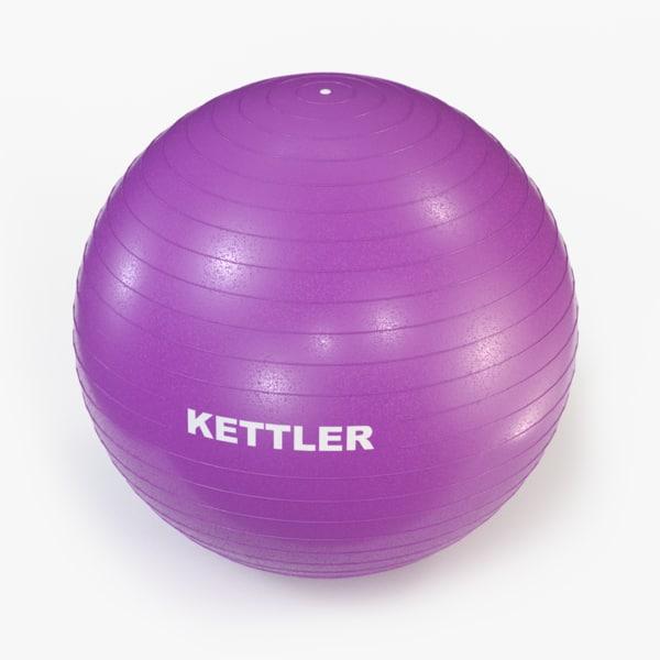 kettler exercise ball 3ds