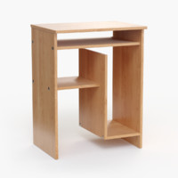 3d table pc mdf model