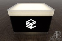 coffee table nightclubs 3d model