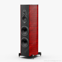 3d model floorstanding sonus faber amati