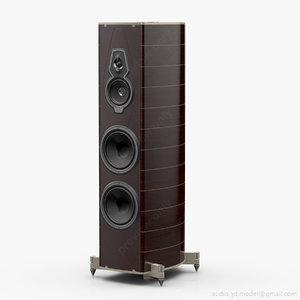 floorstanding sonus faber amati 3d 3ds
