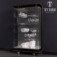 showcase turri 3d model