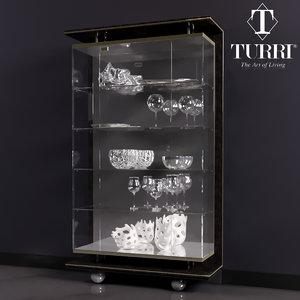 showcase turri 3d model