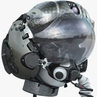 helmet f-35 lm 3d model