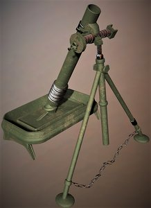 cryengine mortar 3d 3ds