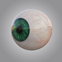 max human green eye