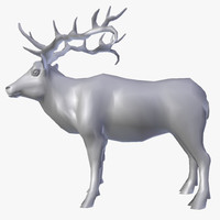 free 3ds mode deer elk