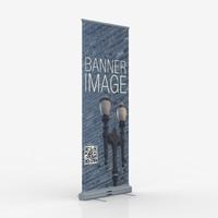 roll banner 3d model